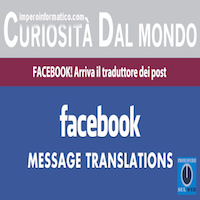 Come tradurre post su facebook